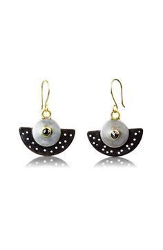 4a068220d3e No Holes Barred Earrings by Nancy Troske (Gold, Silver & Stone Earrings)