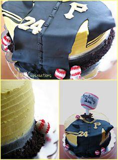 Pittsburgh's Pirates Baseball inspired cake