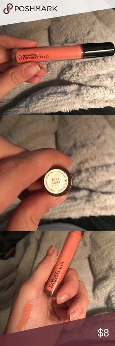 MAC Cremesheen glass MAC Cremesheen glass in shade Richer, Luster. MAC Cosmetics Makeup Lip Balm & Gloss