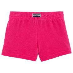 Chicas Shorty Liso - Pantalón corto en tejido terry liso para niña, Shocking pink back