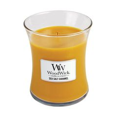 WoodWick Sea Salt Caramel Scented Candle – Just Scented Candles