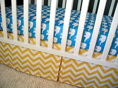 Sheet/ Skirt/ Changing Pad Cover Modern Baby by modifiedtot, $170.00