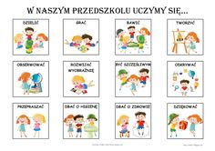 1 okienka: cm x cm obr. na str. lub cm x cm obr. na str. Kids Education, Bujo, Diy And Crafts, Kindergarten, Preschool, How To Plan, A4, Ideas, Speech Language Therapy