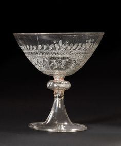 Wine glass | de Lysle, Anthony | V&A Search the Collections