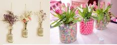 imagenes de como decorar tu cuarto - Buscar con Google Glass Vase, Larry, Tulle, Google, Home Decor, Ideas, Hampers, Home Decoration, Gardens