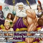 Christians were called atheists