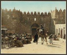 Damascus Gate Jerusalem, ISRAEL