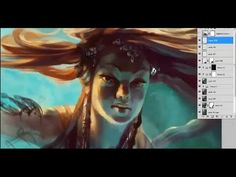 Traditional style in Photoshop with Ubisoft artist Bianca Draghici - YouTube