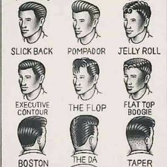 Haircuts, 1950s