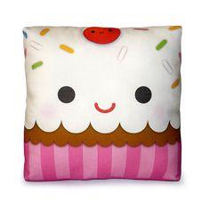 Mini Pillow  Yummy Cupcake by mymimi on Etsy, $18.00