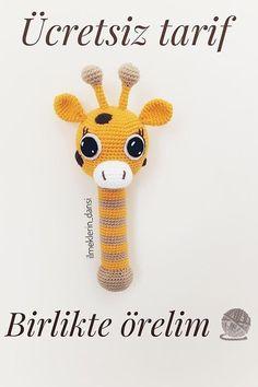 Crochet Patterns Amigurumi, Amigurumi Doll, Crochet Toys, Knit Crochet, Crochet Bebe, Baby Rattle, Little Birds, Tweety, Hedgehog