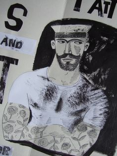 'The sailor with the rose tattoo' by Clive Hicks-Jenkins