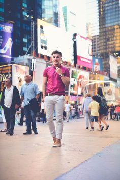 Times Square street style
