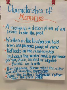 Memoir writing advice articles