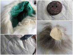 Très tendances, ces pompoms faits de fourrures recyclées sont très  faciles à faire! Il faut faire plusieurs essais selon la longueur de ...