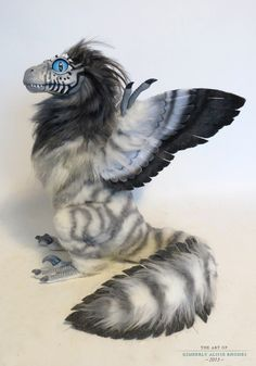 and another feather-raptor by kimrhodes on deviantART