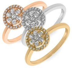 Nordstrom Bony Levy Diamond Flower Stack Ring (Limited Edition Exclusive) on shopstyle.com