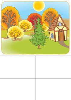 seizoenenspel herfst 1 voor kleuters, free printable