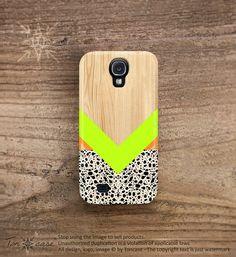 Galaxy s3 case unique wood Galaxy 2 case geometric por TonCase, $19.99