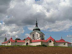Church of St John of Nepomuk at Zelená hora CZ