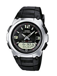 Casio Funkuhren Herren-Armbanduhr Analog / Digital Quarz WVA-109HE-1BVER - http://uhr.haus/casio/casio-funkuhren-herren-armbanduhr-analog-quarz-2