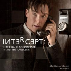 Listen closely. #BenedictCumberbatch is Alan Turing in The #ImitationGame. http://twitter.com/ImitationGame/status/519195958324645889/photo/1