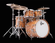 Renown Purewood Hickory Series Drums & Drum Sets (Gretsch Drums) Sizes, Colors, Features and Photos