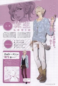 Asahina Louis he's my favorite of favorites❤️ besiiiides Azusa,Tsubaki,Natsume,Futo,Yuuske&The quite one who played in the garden (forgot his name )