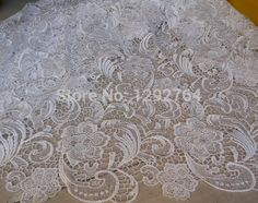 Free shipping! Wholesale price 5 yards High quality Cupion / Guipure lace fabric for  wedding and party TS323