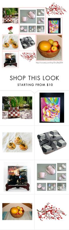 """""""Etsy Collection by TerryTiles - Volume 24"""" by terrytiles2014 ❤ liked on Polyvore featuring interior, interiors, interior design, home, home decor, interior decorating and Brewster Home Fashions"""