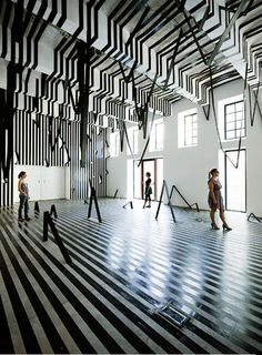 Shape-Shifting Installations : Peter Kogler