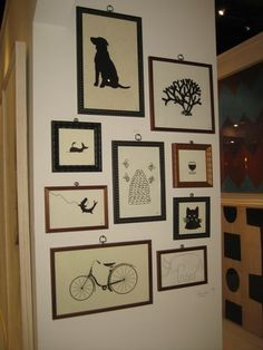 art wall from Natural Curiosities
