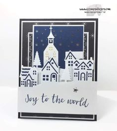 Stampin' Up! Hearts Come Hometown Greetings for the Happy Inkin' Thursday Blog Hop   Stamps – n - Lingers