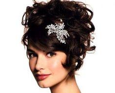 peinados para cabello corto ondulado de moda