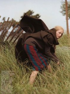 Jean Campbell by Bruce Weber for Vogue UK October 2013 9