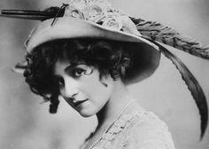 "vestatilleys: "" Gabrielle Ray by Foulsham & Banfield, 1910. """