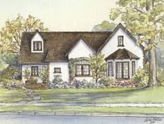 Image result for 1940s home with bay windows