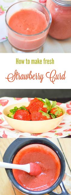 How to make Fresh Strawberry Curd http://www.grumpyshoneybunch.com/2016/03/strawberry-curd.html?utm_campaign=coschedule&utm_source=pinterest&utm_medium=Grumpy's Honeybunch&utm_content=Strawberry Curd