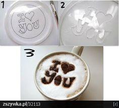 napis na kawie nie ma nic prostsze