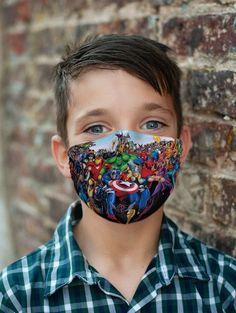 Marvel Designed Face Mask/ Daily Use/ With Filter Pocket/   Etsy Cool Masks, Best Masks, Darth Maul Mask, Jack Tim Burton, Safety Mask, Marvel, Protective Mask, Fashion Mask, Butterfly Design
