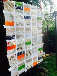 Riley Blake jelly roll quilt #rileyblakedesigns #allstar