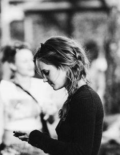 Emma Watson - love her hair here