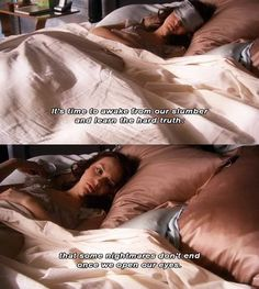 Some nightmares don't end up once we open our eyes - Blair #ChairGossipGirl