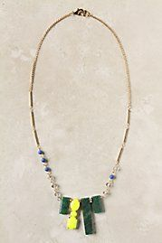 Bright Outlook necklace - Anthropologie