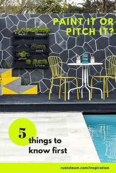 When it comes to old rusty furniture, do you paint it or pitch it? Here are the 5 things to consider before tossing your outdoor porch or patio furniture set.