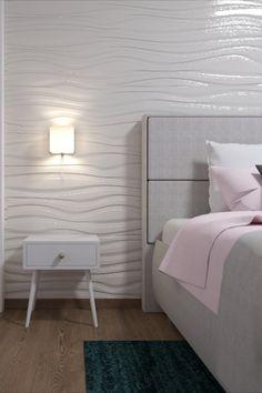 3D stena, 3d panely do spálne, návrhy interiérov, dizajn