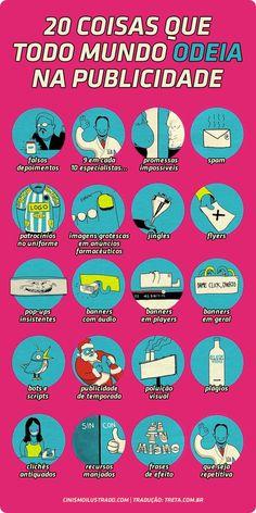 20 coisas odiadas em publicidade