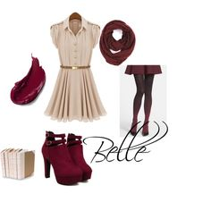 Once upon a time outfit-Belle