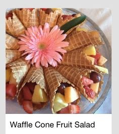 Easy cool snack ideas for Luau party