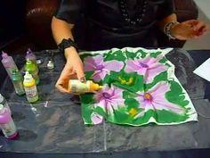 Tutorial: Silk art - Pittura su seta